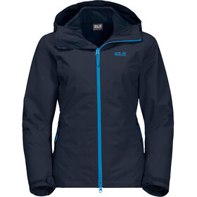 Jack Wolfskin Gotland 3In1 Jacket Women midnight blue